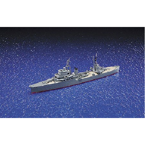 Aoshima Bunka Kyozai 1/700 Water Line Series Japanese Navy Light Cruiser Kashii plastic model 330