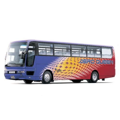 Aoshima Bunka Kyozai 1/32 bus No.30 Mitsubishi Fuso Aero Queen I high-speed bus