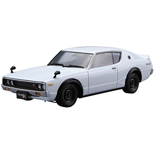 Aoshima Bunka Kyozai 1/24 The model car series Nissan KPGC110 Skyline HT2000 GT-R 1973 year Model Car No.15