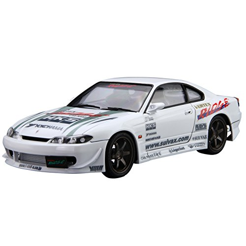 Aoshima Bunka Kyozai 1/24 The Tuned Car Series Vel-Tex S15 Nissan Silvia 1999 Plastic No.8