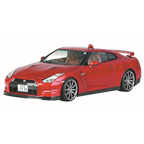 Aoshima Bunka Kyozai dangerous criminal No.SP R35 GT-R Farewell dangerous criminal DVD & Blu-ray launch package 1/24 scale plastic model