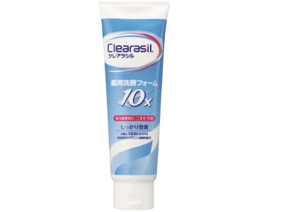 Clearasil Medicated Cleansing Foam 10x (120G)
