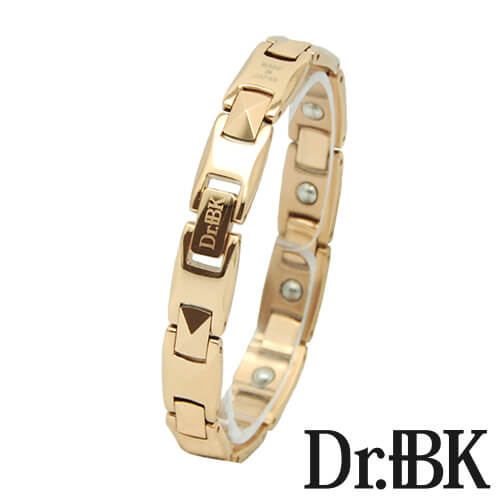Dr. + BK germanium bracelet BT00X series pink gold [Bracelet]