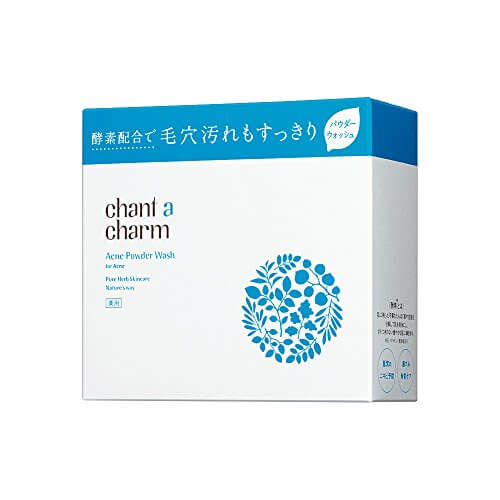 chant a charm medicated acne powder wash 0.8g × 34 capsule