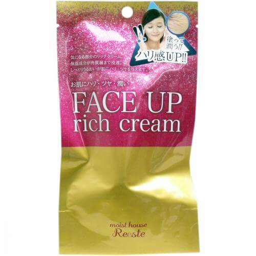 Cosmetics Tex Roland Moist House Riesute face-up cream 25g