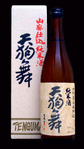 Pure rice sake Tengu Mai mountain waste pure rice (720ml)
