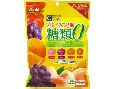 C's CASE Sugarless Throat Candy (84g)