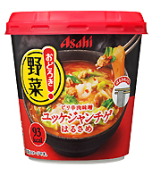 Asahi Vegetable Yukgaejang-chige Soup 27.2g (Pack of 48)