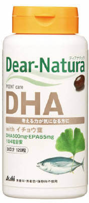 Dear-Natura DHA with 은행잎 120정
