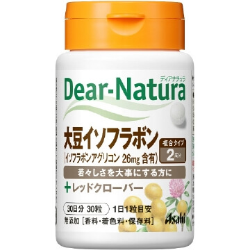 Dear-Natura soy isoflavones with red clover (30 grains)