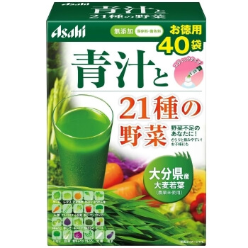 Asahi Aojiru and 21 kinds of vegetables (40 bags)