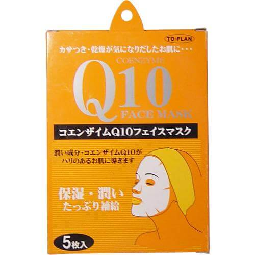 TO-PLAN (Topuran) coenzyme Q10 face mask 5 pieces