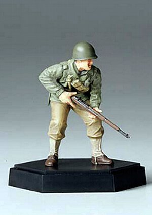 Tamiya MM Figure Collection 1/35 American infantry attack rifle hand A finished product 26008