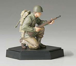 Tamiya MM Figure Collection 1/35 American infantry attack team rifle hand B completed 26009