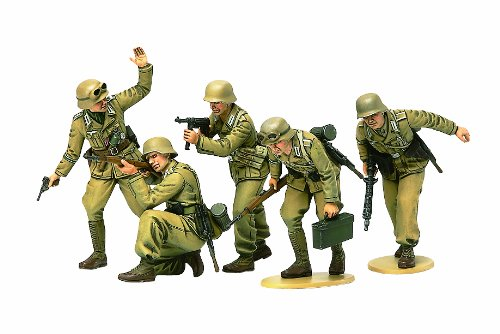 Tamiya 1/35 German Africa Corps Infantry Set 35314