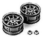 Tamiya R / C SPARE PARTS SP-569 M chassis 8-spoke wheels (silver)