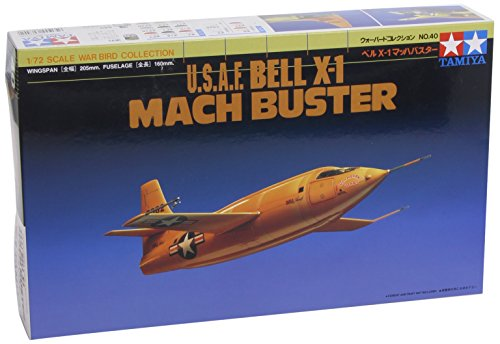 Tamiya 1/72 War Bird Collection WB-40 Bell X-1
