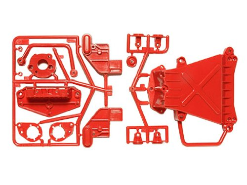 Tamiya RC limited series CW-01 D parts (under guard) Red style 84345