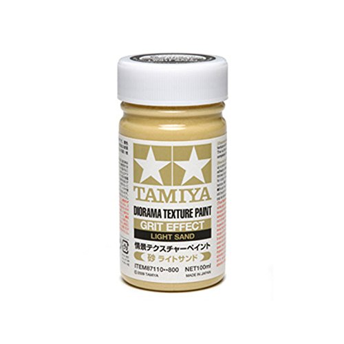 Tamiya makeup material Series No.110 scene Tesque char paint (sand light sand) 87110