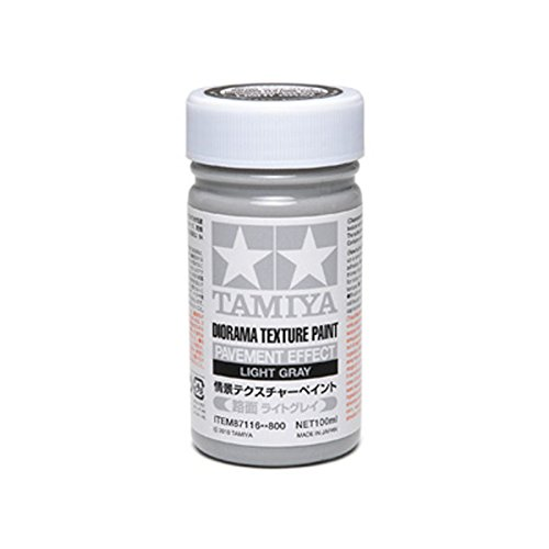 Tamiya makeup material Series No.116 scene Tesque char paint (road surface light gray) 87116