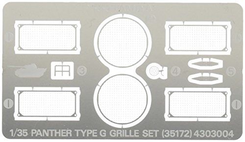 Tamiya 1/35 Military Miniature Series Panther G type etching grill set