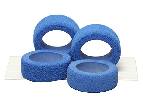 Tamiya grade up No.117 GP.117 Reston sponge tire blue 15117