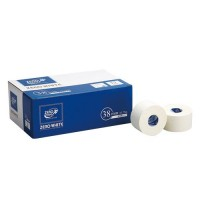 Nisshin'iryoki ZERO white tape non-stretchable 38mm × 13.75m 12 volumes containing