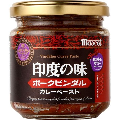 Mascot India taste pork bottle Dal curry paste 180g of