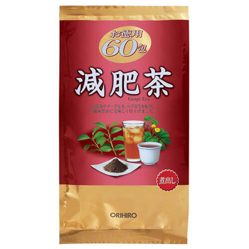 Diet Tea Value Pack 60 Tea Bags Orihiro Orihiro Dokodemo