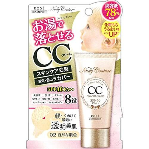 Nudy Couture Mineral CC Cream 30g 02 Natural Skin Color