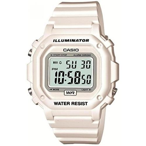 CASIO watch standard digital display white × white F-108WHC-7BJF