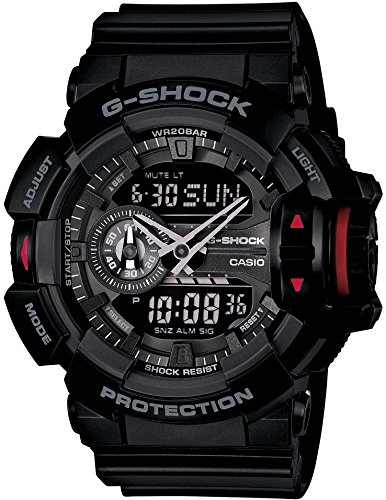 CASIO watch G-SHOCK GA-400-1BJF