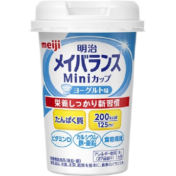 Mei balance Mini cup 125ml yogurt