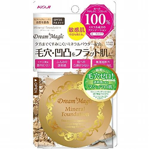 Dream Magic Mineral Foundation 10g dark ocher