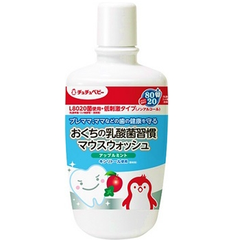 Lactic acid bacteria habit mouthwash apple mint 300ML of the tutu baby hinterland