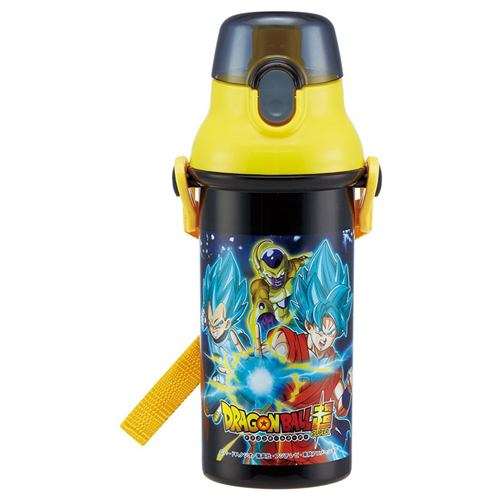 Skater straight drinking water bottle plastic one-touch bottle 480ml Dragon Ball super PSB5SAN