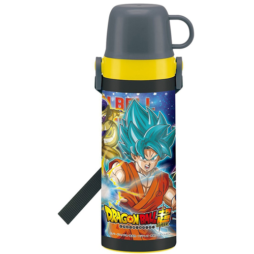 With skater lightweight 2WAY stainless bottle 600ml cup water bottle Dragon Ball super STGC6