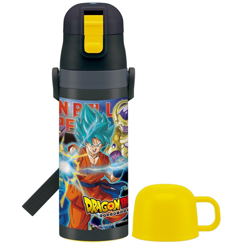 With skater ultra-light 2WAY stainless bottle water bottle cup 470ml warm cold Dragon Ball super SKDC4
