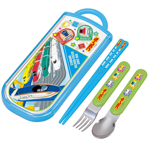 Skater trio set sliding chopsticks spoon fork set Plarail 16 TCS1AM