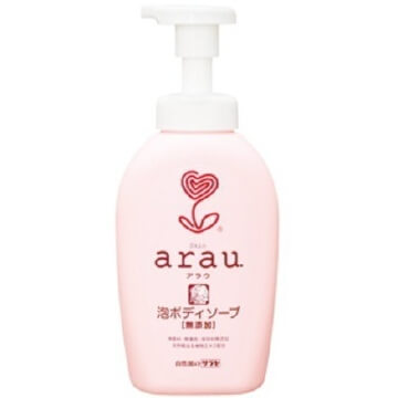 Arau foam body soap
