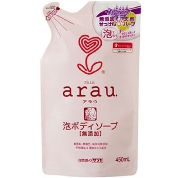 Arau foam body Soap Refill