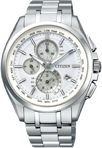 CITIZEN watch ATTESA Atessa Eco-Drive Eco-drive radio clock AT8040-57E