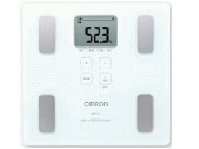 OMRON body fat scale (HBF-214-W)