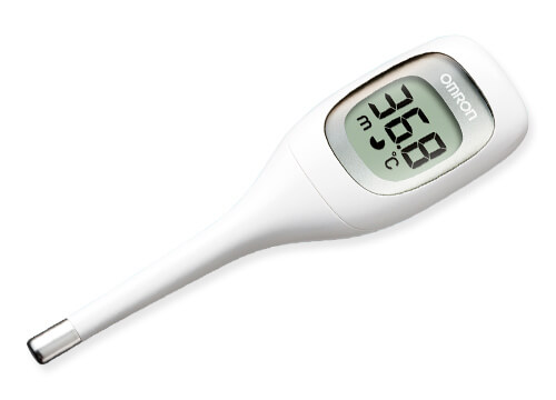 "OMRON Electronic Thermometer ""Ken On kun"" (MC-681)"
