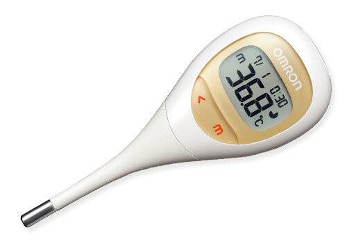 "OMRON Electronic Thermometer ""Ken On kun"" (MC-682)"