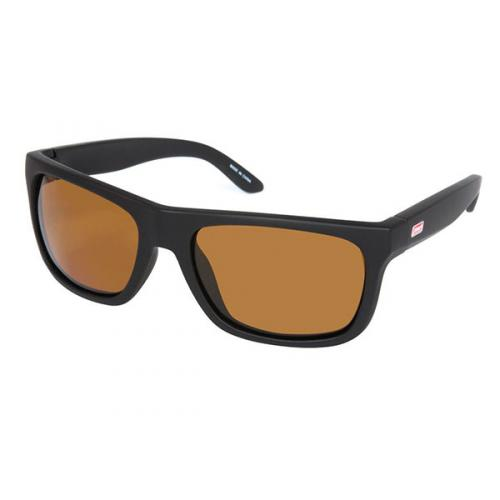 Heart optical Coleman floating polarized sunglasses CFL01-2 black mat