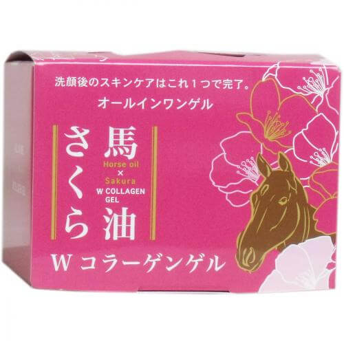 Horse oil Sakura W collagen gel 100g