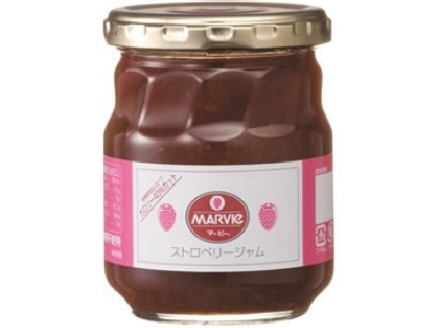 Mabi strawberry jam bottle