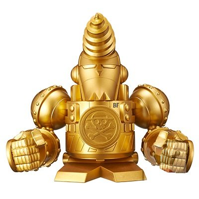 One Piece Franky Shogun Piggy Bank - One Piece Film Gold