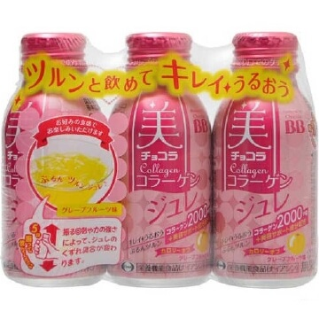 Bi-Chocola Collagen Gel (100ml x 3 Bottles)